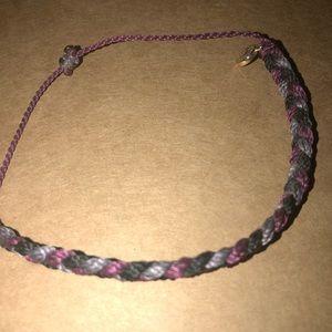 Braided Pura Vida bracelet